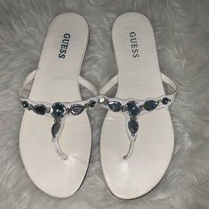 GUESS Sandals white 8